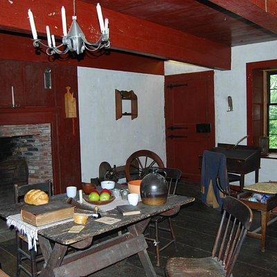 Fort Klock Interior