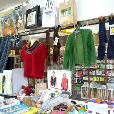 The Wool Inn - Garments on display