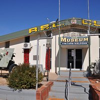 Enterance to the RSL War Museum