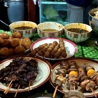 Side dishes at H Sulichan, Taman Bojana, Kudus