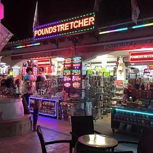 Poundstretcher Lights