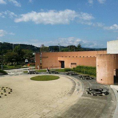 屋上から見た感覚ミュージアム