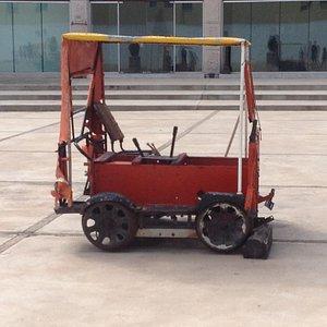 Train service cart