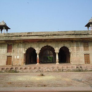Another view of the Tomb.