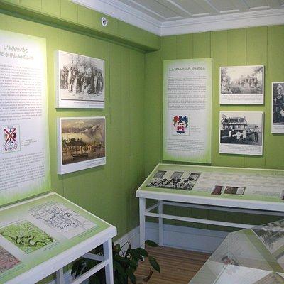 Exposition permanente sur la famille O'Neill, Maison O'Neill