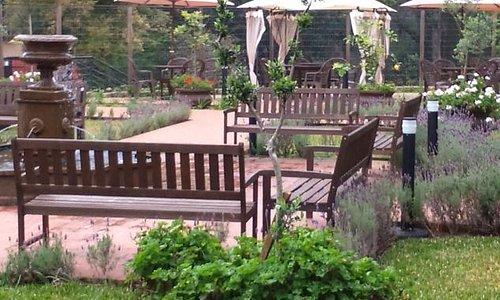 Jardins da Pousada, muito lindos.