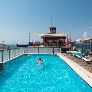The Pool at the Surtel Hotel Kusadasi