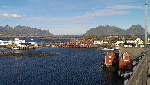 Rorbuer auf Svinøya in Svolvær