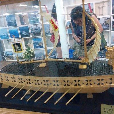 Ancient Korean warship