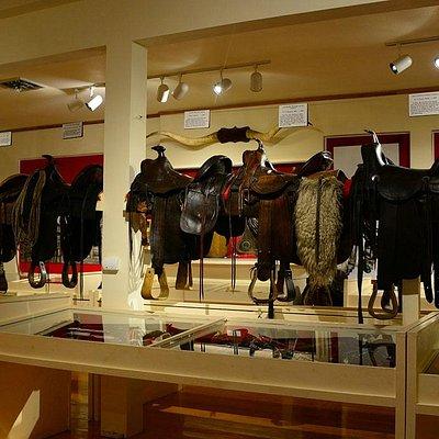 Cowboy room on the upper floor.
