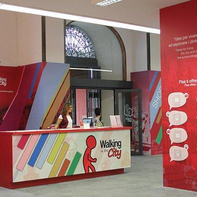 Desk informazioni Ufficio turistico