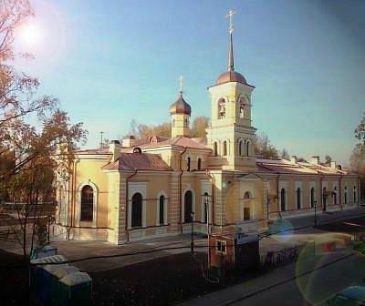 Церковь Святого Преподобного Сергия Игумена Радонежского. Вид
