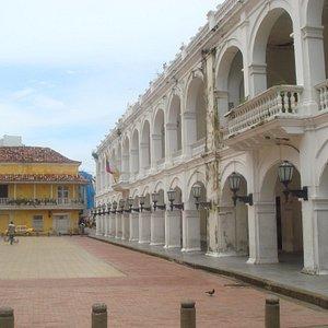 Vista de la Plaza (de un viaje anterior)