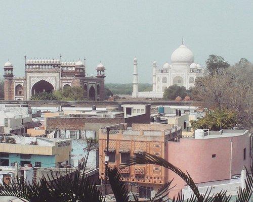 Beautiful view of Taj