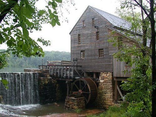 Historic Yates Mill, Wake County's last remaining water-powered gristmill