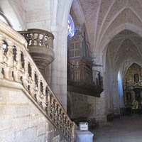 Iglesia Santo Tómas - Covarrubias - platereske trap