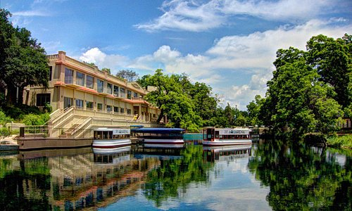 Learn about what makes San Marcos unique on a Glass Bottom Boat tour at the Meadows Center