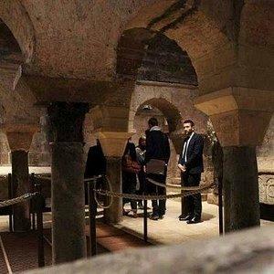 crypte de la basilique saint Seurin