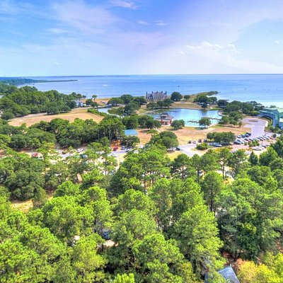 Total view of Whalehead from the lighthouse