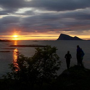 Some of the fantastic surroundings of Sommarøy island