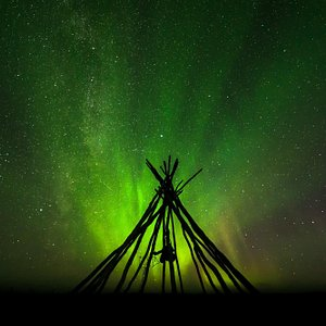 Northern Light. Picture taken by Roger Johansen Photography.