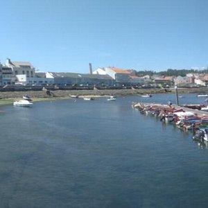 Illa de Arousa - Panorámica del ''Porto do Xufre'' (01-09-2015)