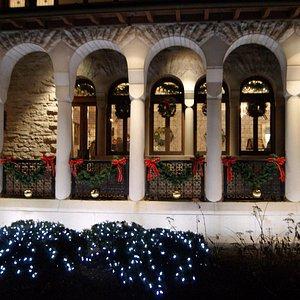 Hayner Center at Christmas