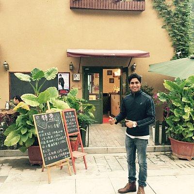 a cafe at Banpo international art gallery, Dev Mehra