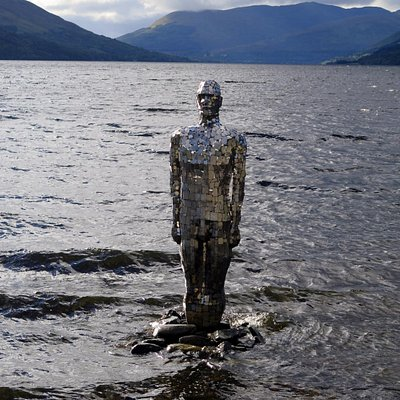 The Still Man at Loch Earn