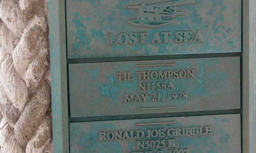 Seafarer's Memorial, Homer Spit, AK - Name Plaque 1