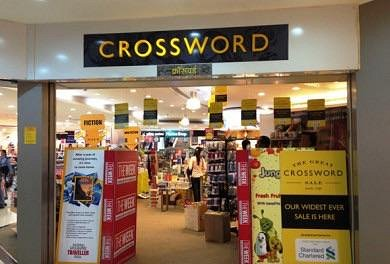 Crossword store in a mall