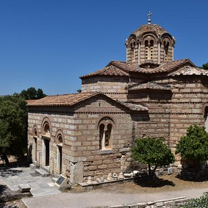 Byzantine beauty of the Church of Holy Apostles