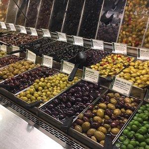 Beautiful displays in a well run grocery