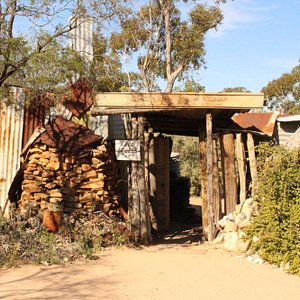 The humble dwelling of Fred Bodel