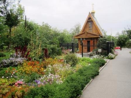 Часовня Иверской Божьей Матери в парке