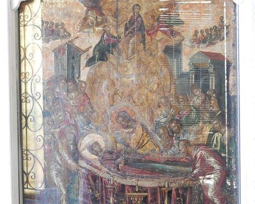 The Dormition of the Virgin Mary by El Greco