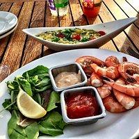 Shrimp & Succotash