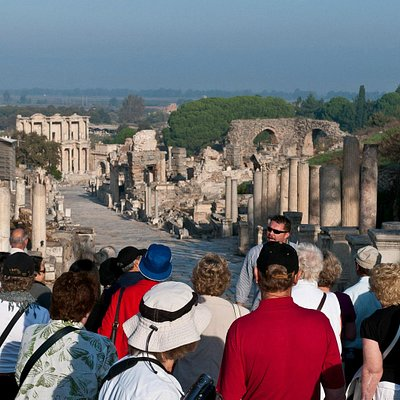 Being first in Ephesus is priceless