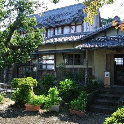 和洋折衷の邸宅