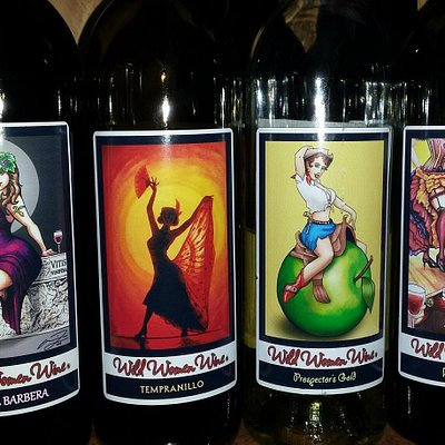 Wild Wine Labels