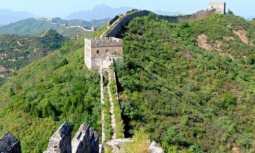 Wild wall at Jinshanling