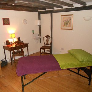 Relaxing therapy rooms