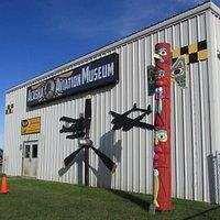 Alaska Aviation Museum building, one of several