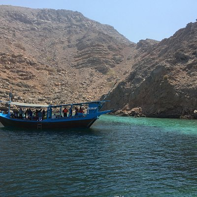 The 'fjords of Arabia' snorkelling spot