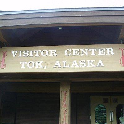 Tok Visitor Center - Entrance