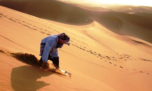 Sandboarding Erg Chegaga