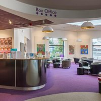 Hertford Theatre box office, gallery and cafe space