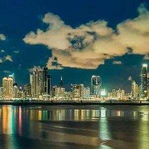 Sunset of  Panama City - Cinta Costera