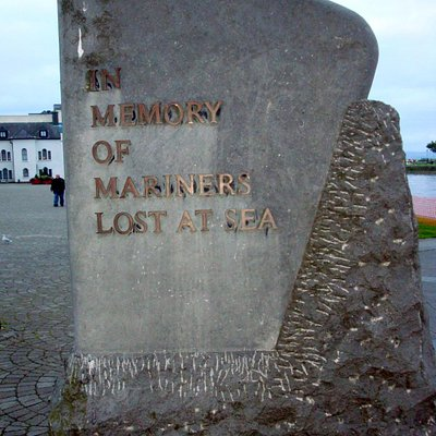 Lost Mariner's Monument in Galway