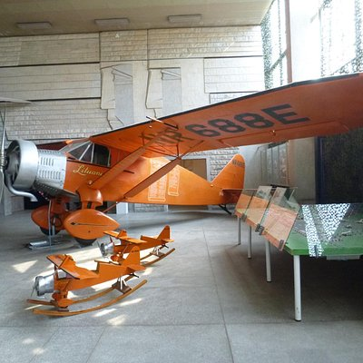 Макет самолета Литуаника